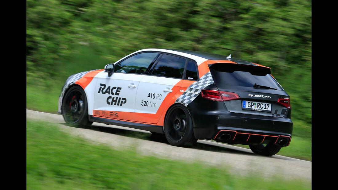 RaceChip-Audi RS3 Sportback, Heckansicht