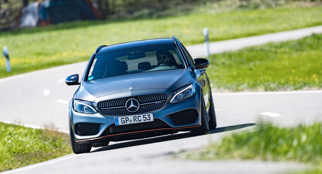 RaceChip-Mercedes-AMG C 43 T, Frontansicht