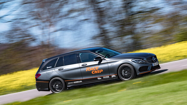 RaceChip-Mercedes-AMG C 43 T, Seitenansicht