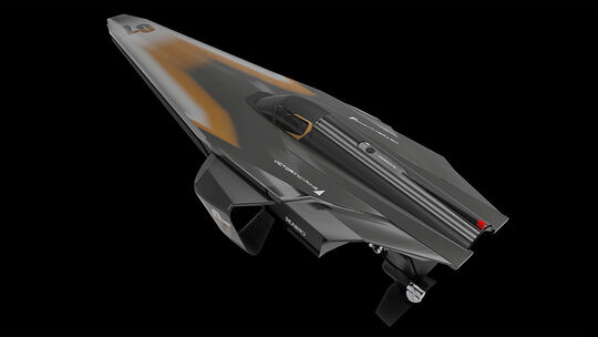 Racebird Elektrorennboot
