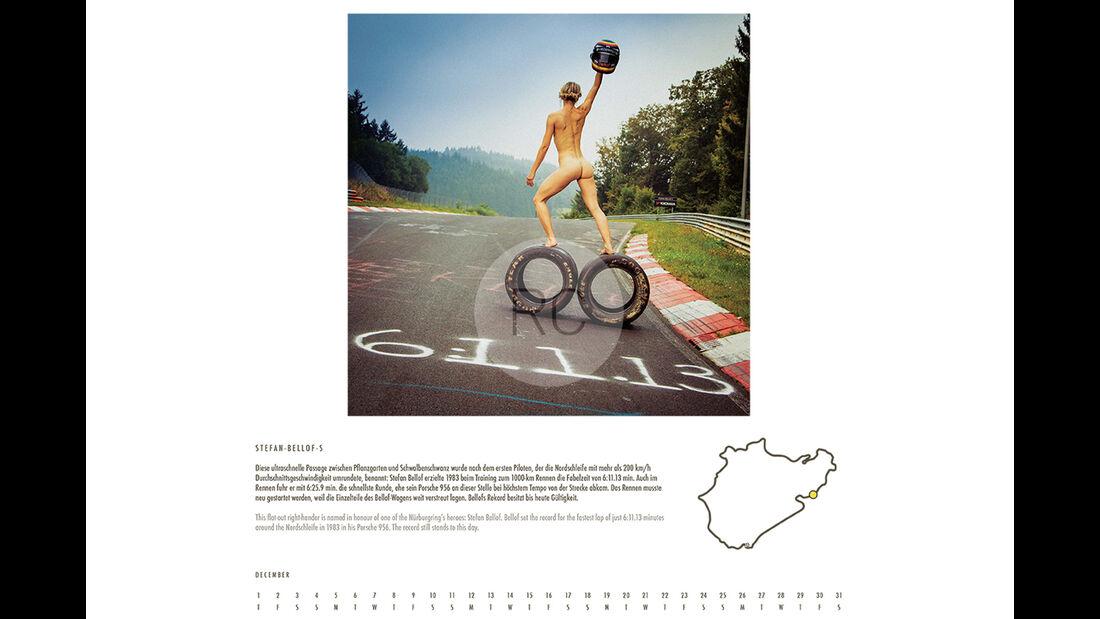 Rachael Clegg, Nürburgring-Kalender 2016