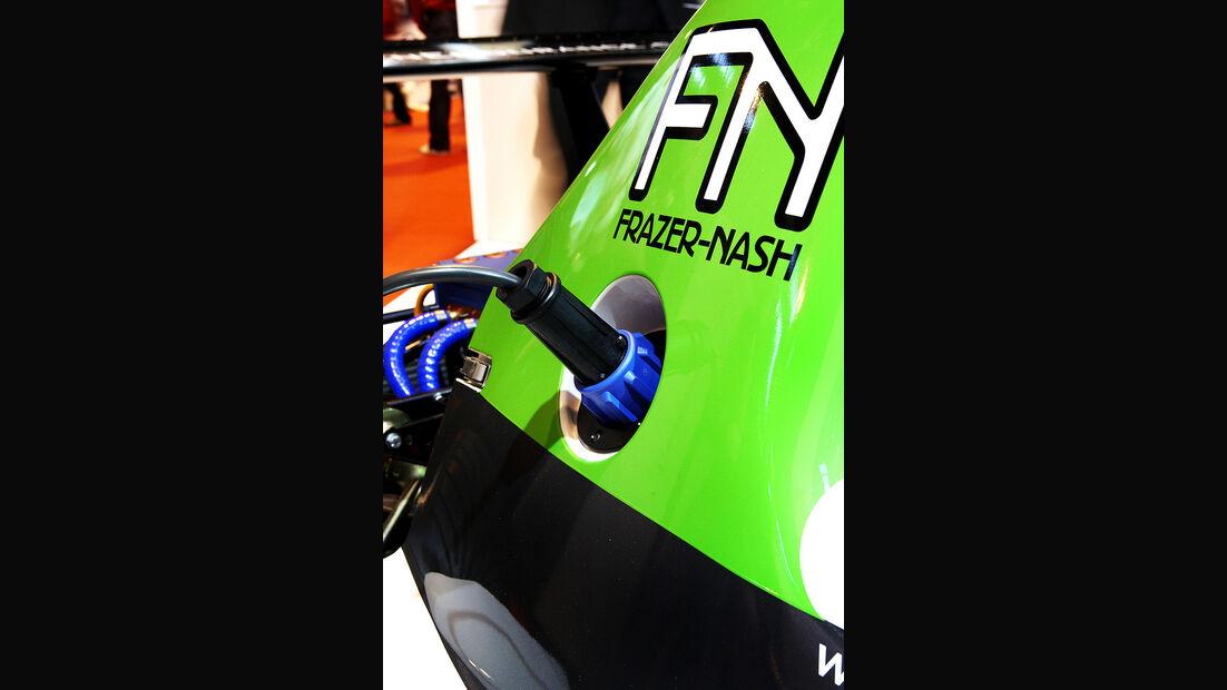 Racing Green Endurance, Radical SRZero, Elektroauto, Ladestecker