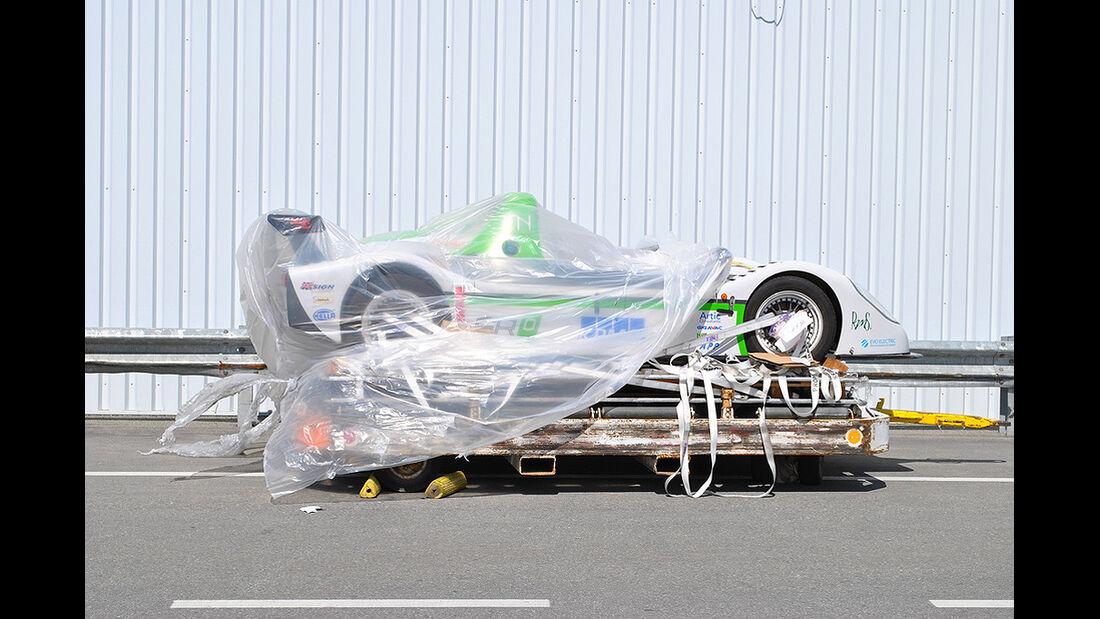 Racing Green Endurance, Radical SRZero, Elektroauto, Luftfracht, Panamericana