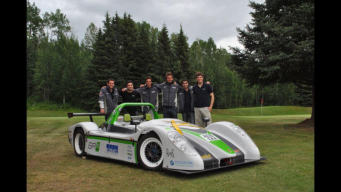 Racing Green Endurance, Radical SRZero, Elektroauto, Panamericana