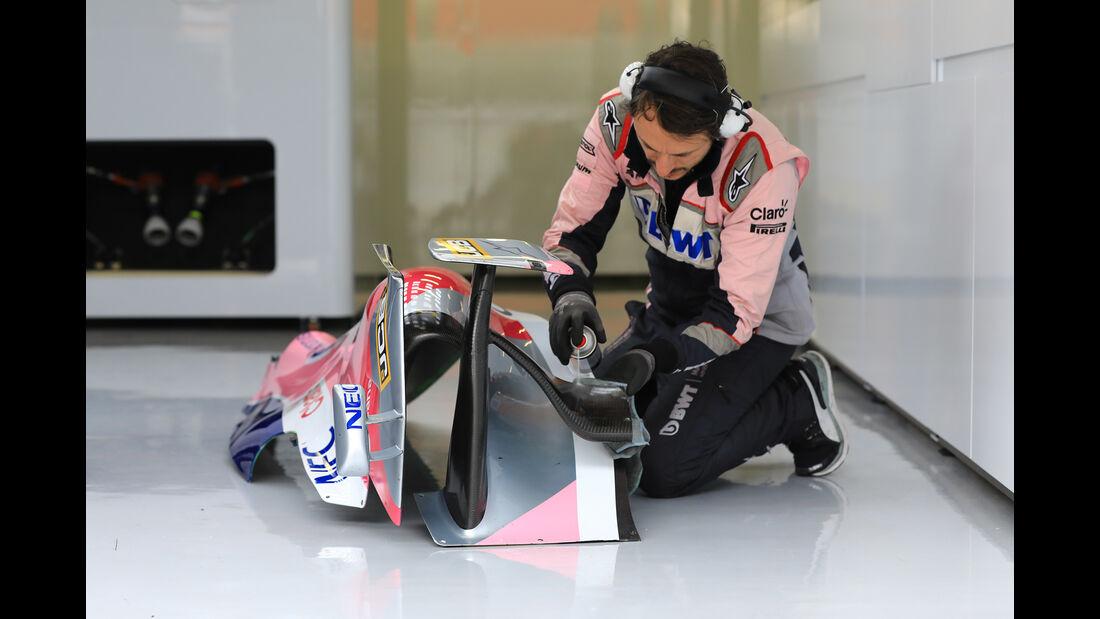 Racing Point - Barcelona - F1-Test - 20. Februar 2019