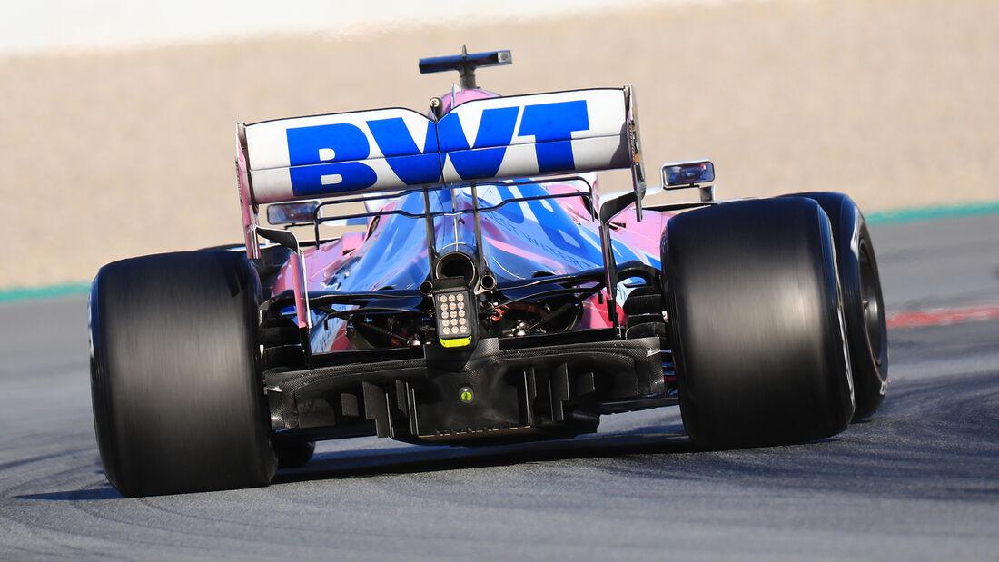 Racing Point - Diffusor - F1-Test - Barcelona - 2020