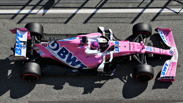 Racing Point - F1-Test - Barcelona - 2020