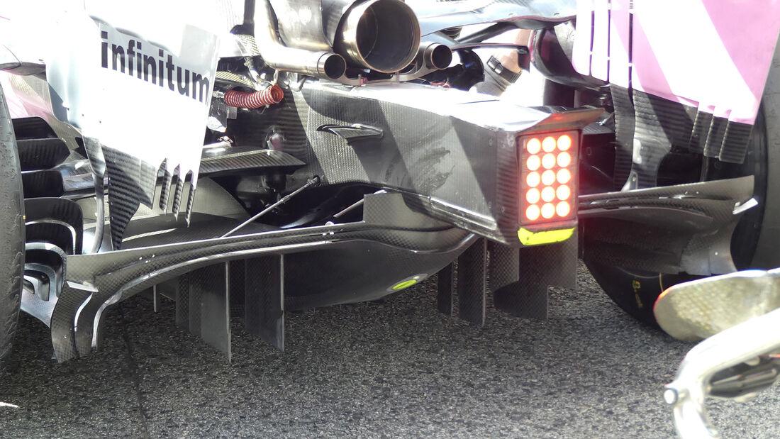 Racing Point - F1-Test - Barcelona - 28. Februar 2020
