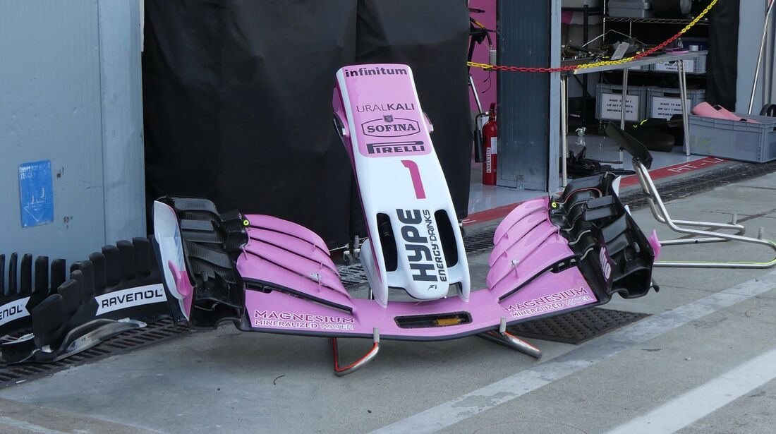 Racing Point Force India - Formel 1 - GP Italien - 30. August 2018