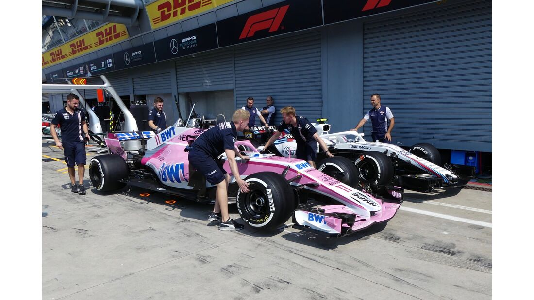 Racing Point Force India - Williams - Formel 1 - GP Italien - 30. August 2018