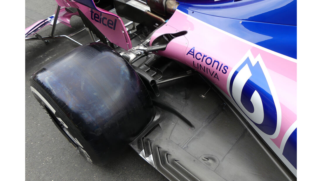Racing Point - Formel 1 - GP Aserbaidschan - Baku - 25. April 2019