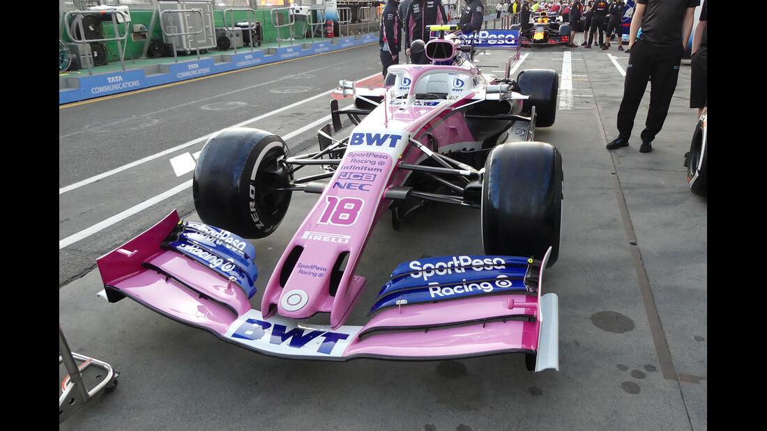 Racing Point - Formel 1 - GP Australien - 14. März 2019