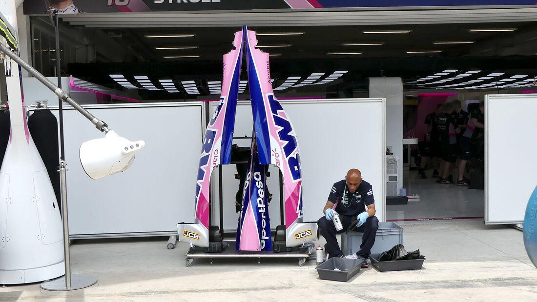 Racing Point - Formel 1 - GP Brasilien - Sao Paulo - 13. November 2019