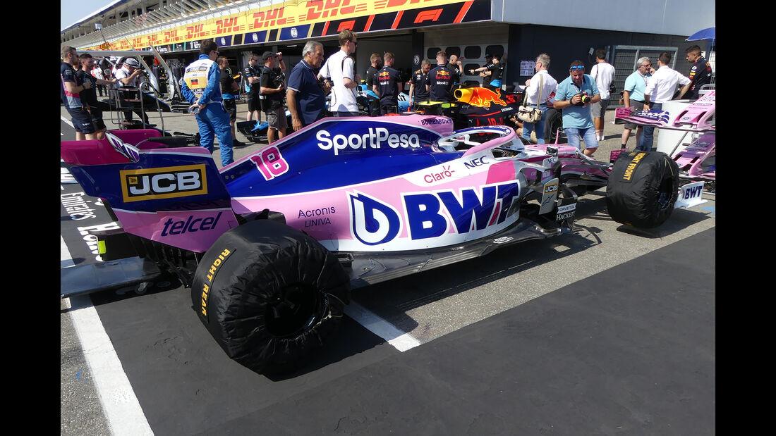 Racing Point - Formel 1 - GP Deutschland - Hockenheim - 25. Juli 2019