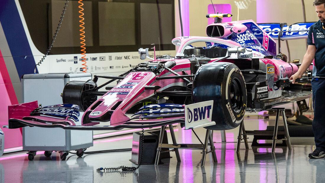 Racing Point - Formel 1 - GP England 2019