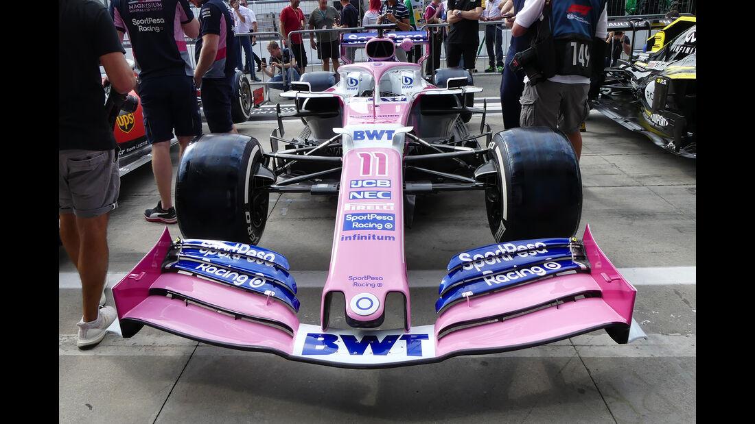 Racing Point - Formel 1 - GP Italien - Monza - 5. September 2019