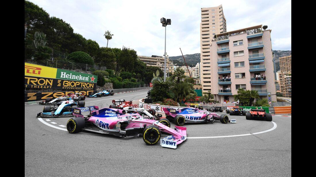 Racing Point - Formel 1 - GP Monaco - 26. Mai 2019