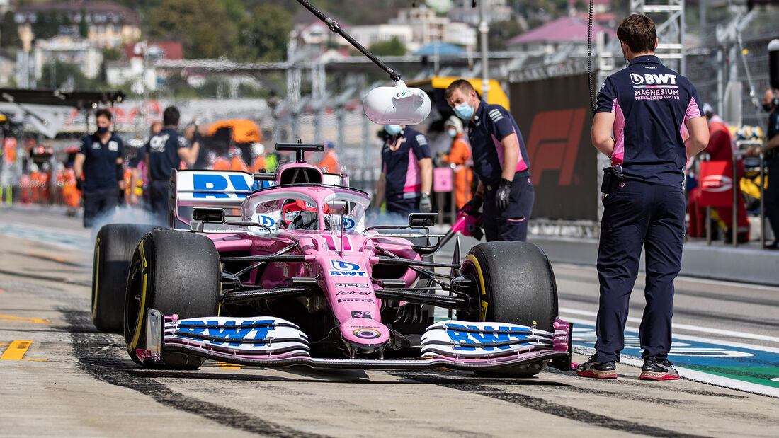 Racing Point - Formel 1 - GP Russland 2020