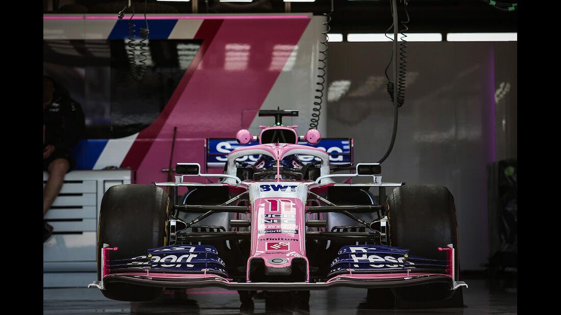 Racing Point - Formel 1 - GP USA - Austin - 31. Oktober 2019