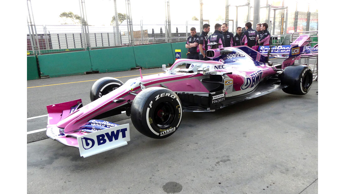 Racing Point - Formel 1 - Technik - GP Australien / GP Bahrain 2019