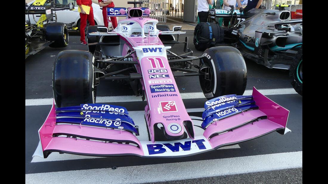 Racing Point - GP Abu Dhabi - Formel 1 - Donnerstag - 28.11.2019