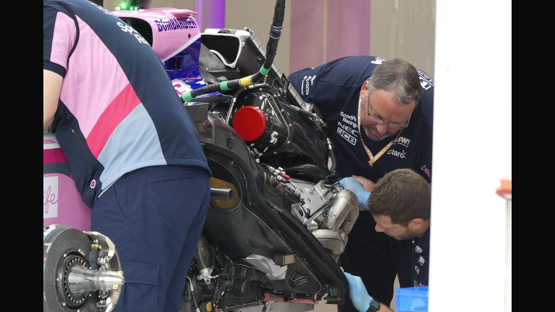 Racing Point - GP Belgien - Spa-Francorchamps - Formel 1 - Donnerstag - 29.8.2019