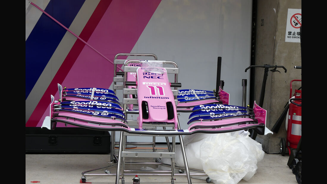 Racing Point - GP China - Shanghai - Formel 1 - Donnerstag - 11.4.2019