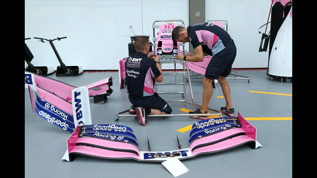 Racing Point - GP Singapur - Formel 1 - 18. September 2019