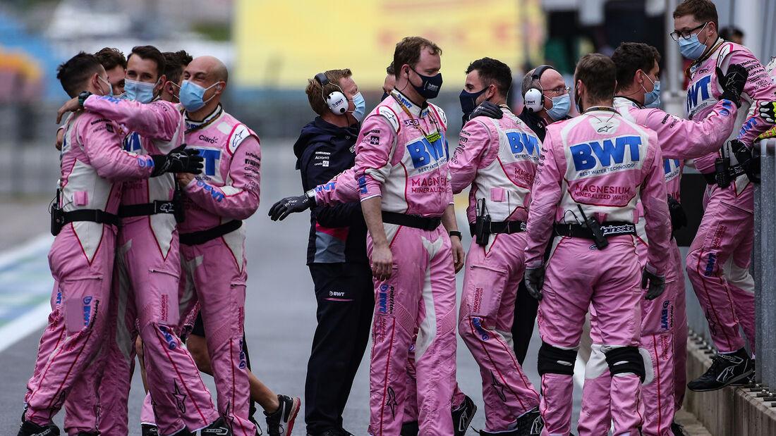Racing Point - GP Türkei 2020 - Istanbul - Rennen
