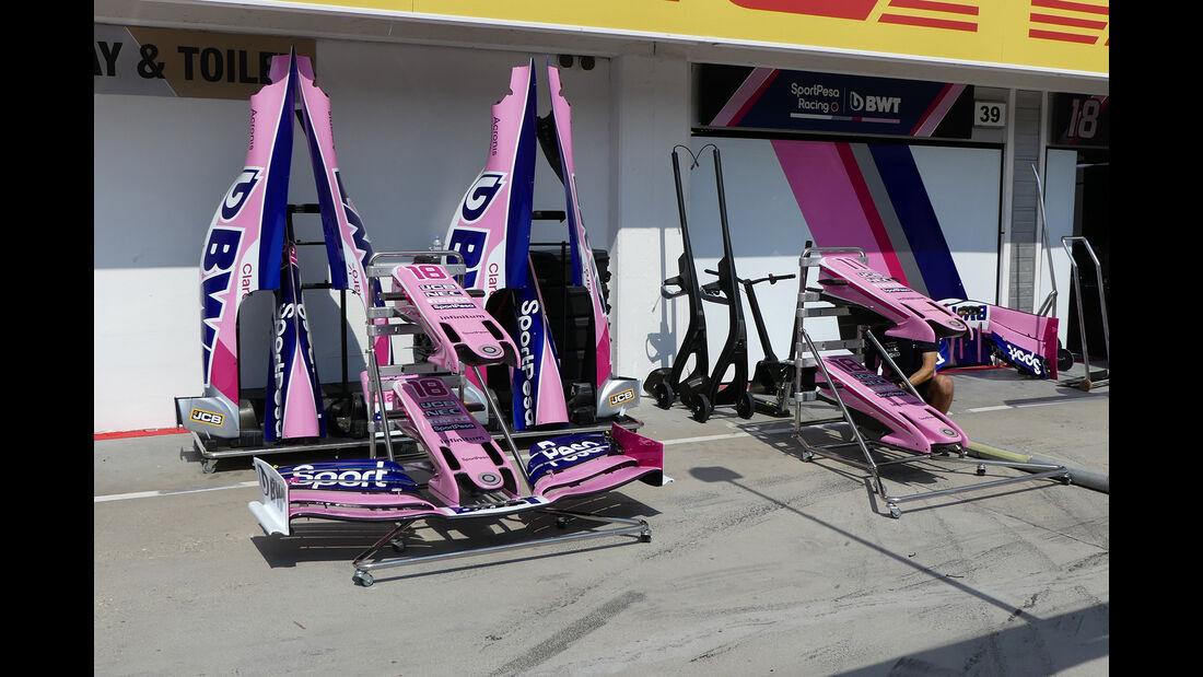 Racing Point - GP Ungarn - Budapest - Hungaroring - Mittwoch - 31.07.2019