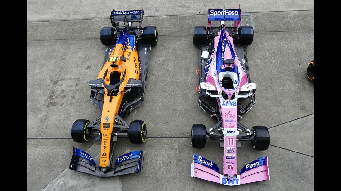 Racing Point & McLaren - Formel 1 - GP Japan - Suzuka - 10. Oktober 2019