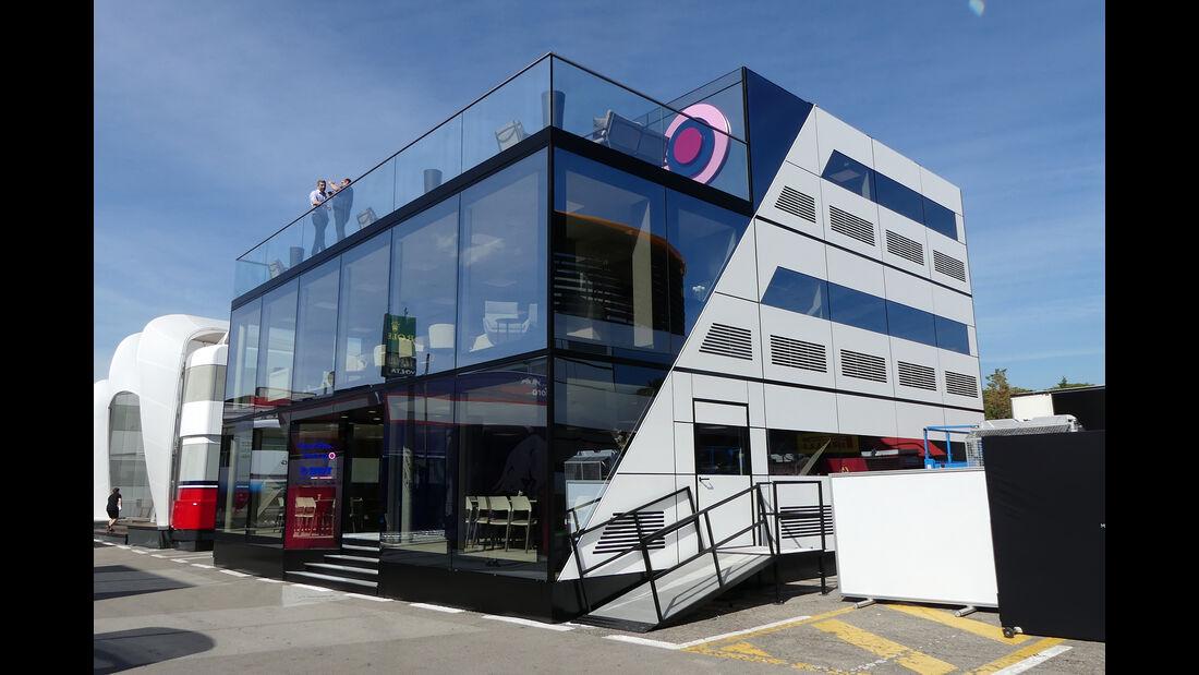 Racing Point - Motorhomes - Formel 1 - GP Spanien 2019
