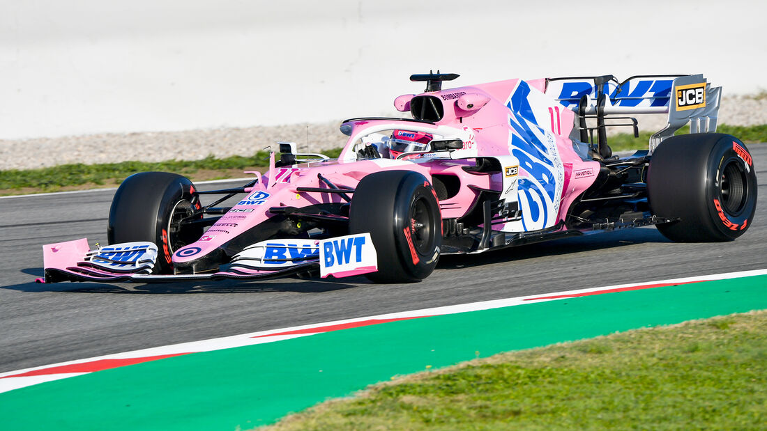 Racing Point RP20 - F1-Auto - Formel 1 - Barcelona-Test - 2020