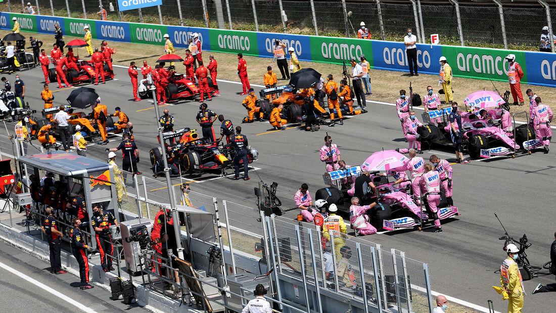 Racing Point - Startaufstellung - GP Spanien 2020 - Barcelona