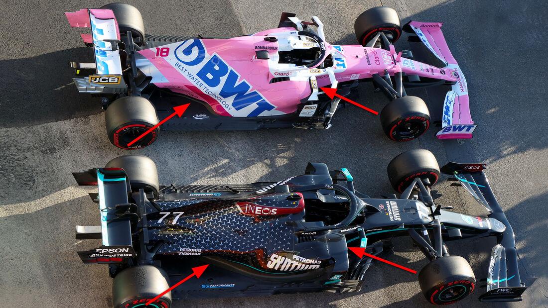 Racing Point - Technik-Upgrade GP Toskana Mugello - 2020