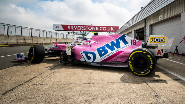 Racing Point - Test - Silverstone 2020