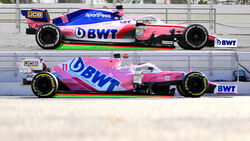 Racing Point - Vergleich 2019 / 2020 - Anstellung