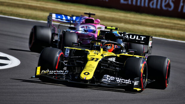 Racing Point vs. Renault - GP England 2020