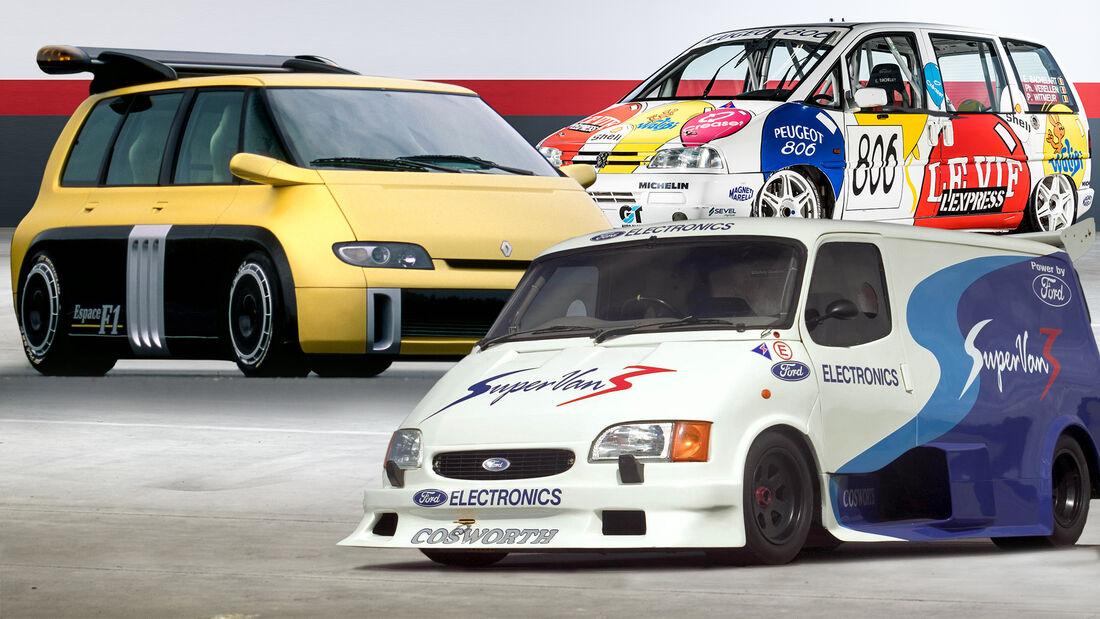Racing Vans Collage Aufmacher
