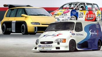 Racing Vans Collage Aufmacher