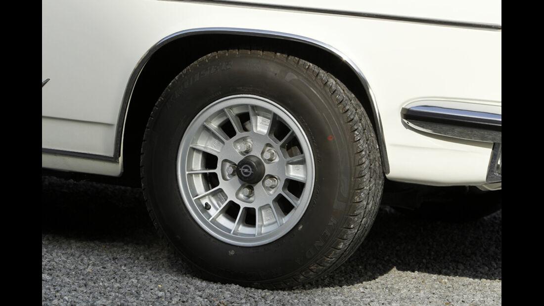 Rad, Opel Diplomat B V8, Baujahr 1977