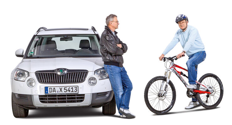 Rad- contra Autofahrer, Thomas Fischer