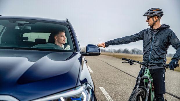 Radfahrer vs. Autofahrer