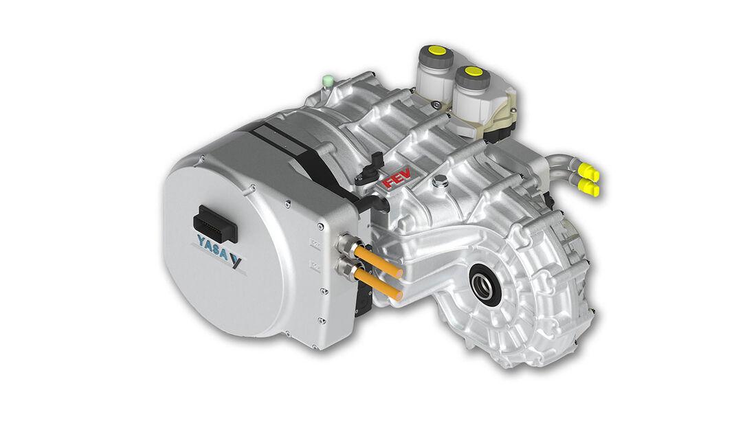 Radialflussmotor Elektromotor