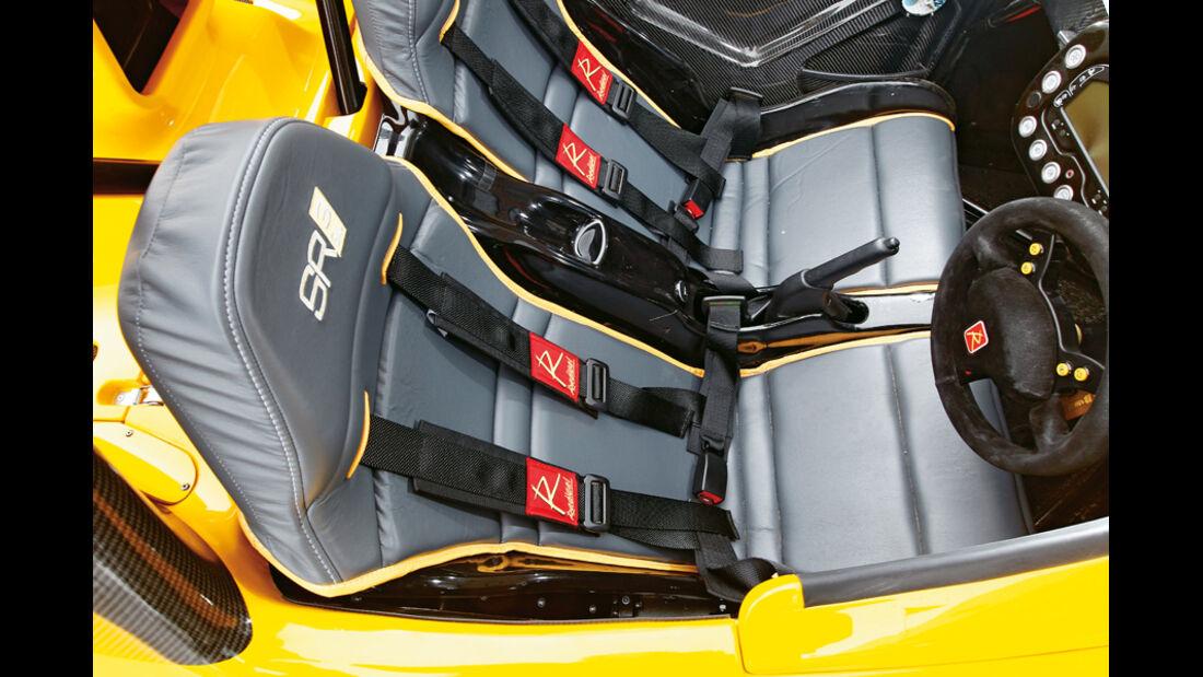 Radical SR3 SL, Sitze