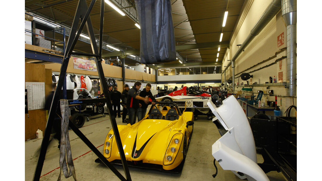 Radical SR3 SL, Werkstatt, Modell