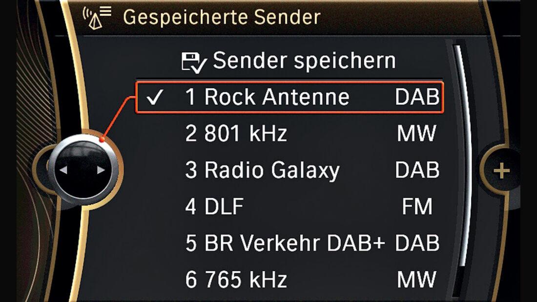 Radio, Senderliste