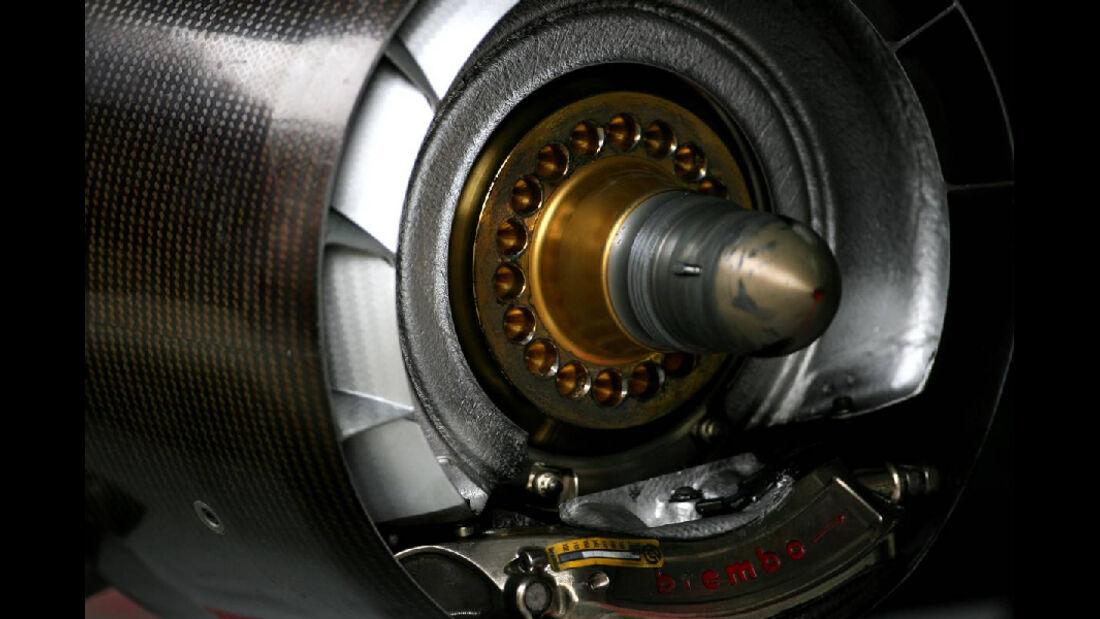 Radnabe Toro Rosso - Formel 1 - GP Korea - 14. Oktober 2011
