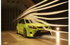 Raeder-Ford Focus RS, Aerodynamik, Windkanal