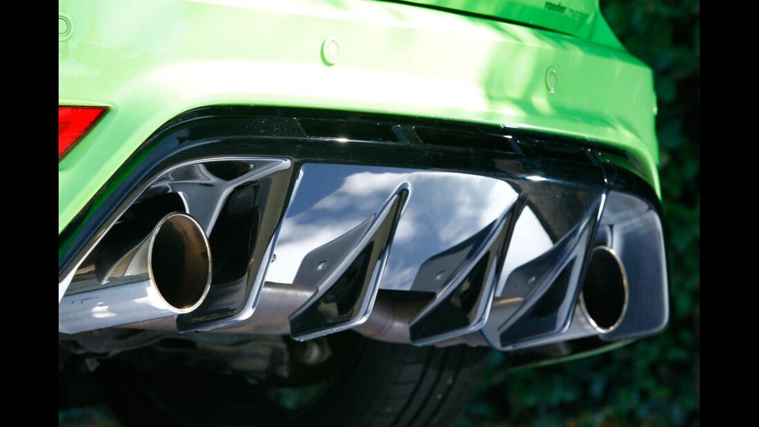 Raeder-Ford Focus RS, Auspuff
